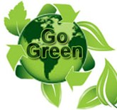 We're Going Green! image