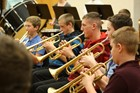7th and 8th grade band visit Ithaca College image