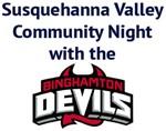 Binghamton Devils to host Susquehanna Valley Community Night image