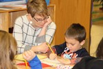 Young readers share talents with visitors image