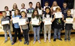 F.P. Donnelly hands out November Saber Star Awards, Grades 3-5 image