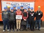 SV group at con•tech career day