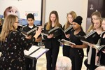 Picture of student choir singing