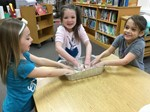 students making oobleck