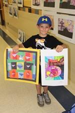 BOY DISPLAYS ART PROJECTS