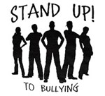 Stand up to bullying graphic
