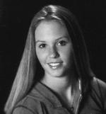 Black and White photo of Danielle Pendlebury
