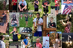 montage of images of student musicians