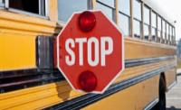 school bus stop arm