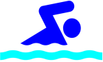 graphic of swimmer