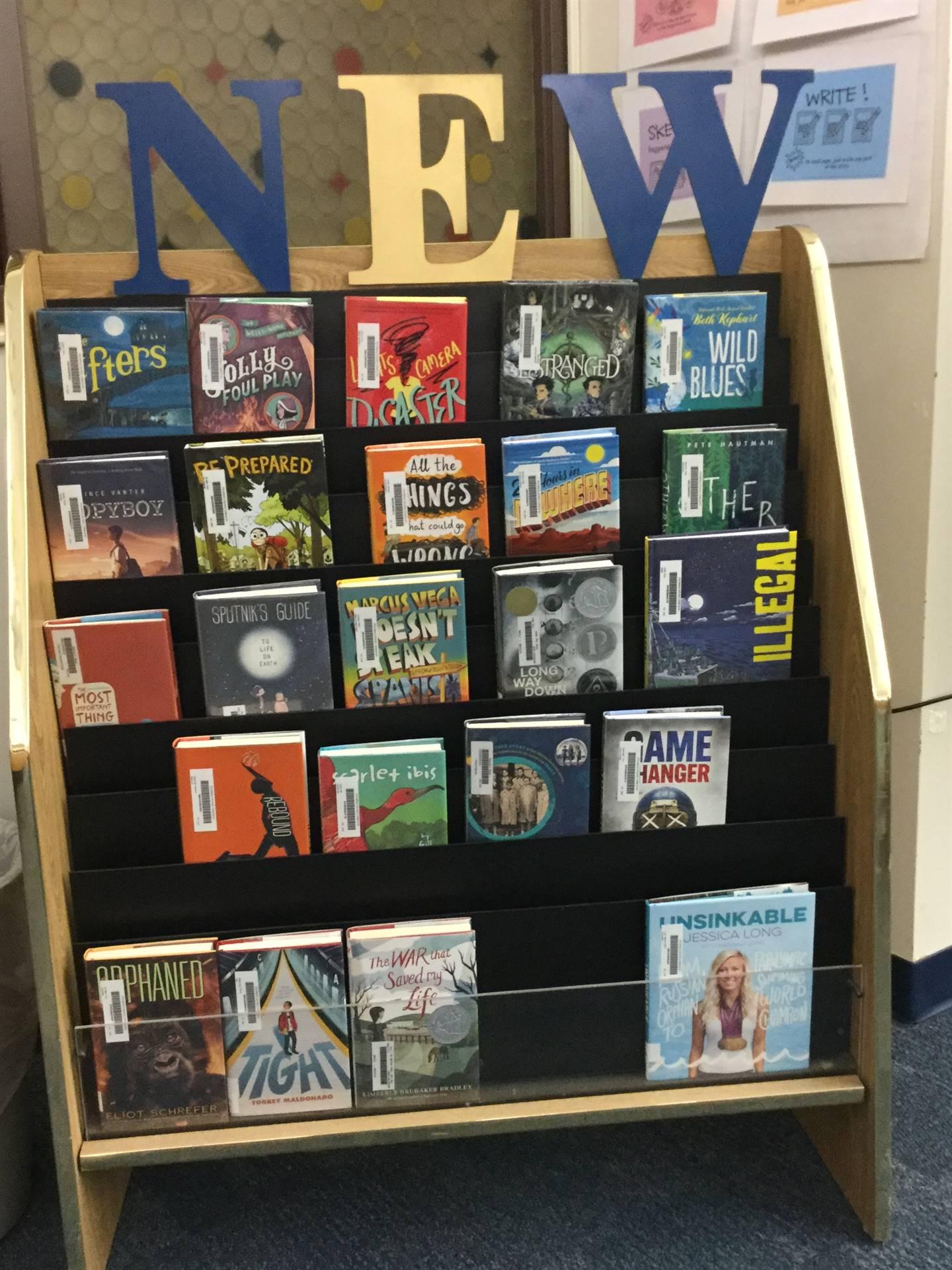 Repurposed periodical rack