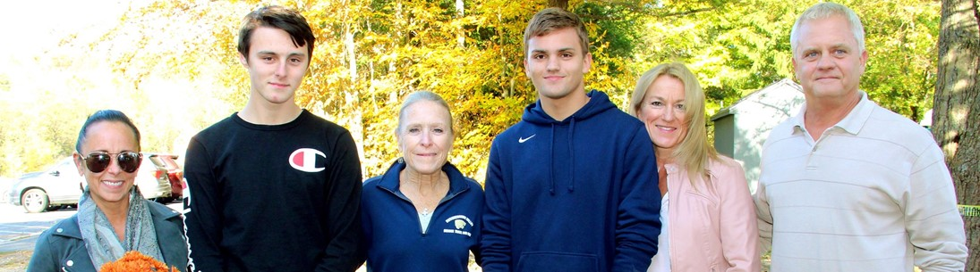 Cross Country senior day picture