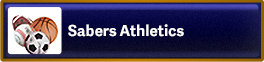 Button that reads and links to Sabers Athletics page