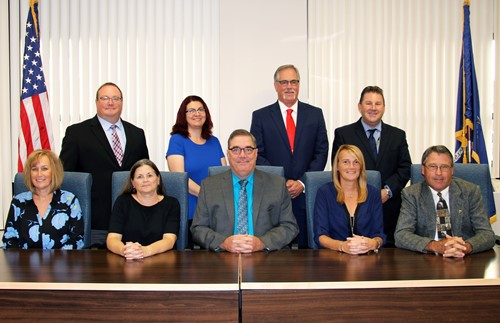 Official board of education portrait
